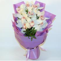 Букет из орхидей 9шт