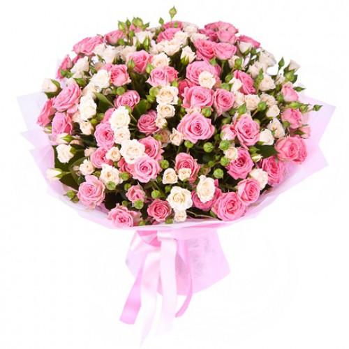 21 роза фото с девушкой
