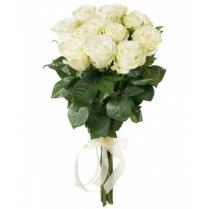 Букет из белых роз (11 шт.)